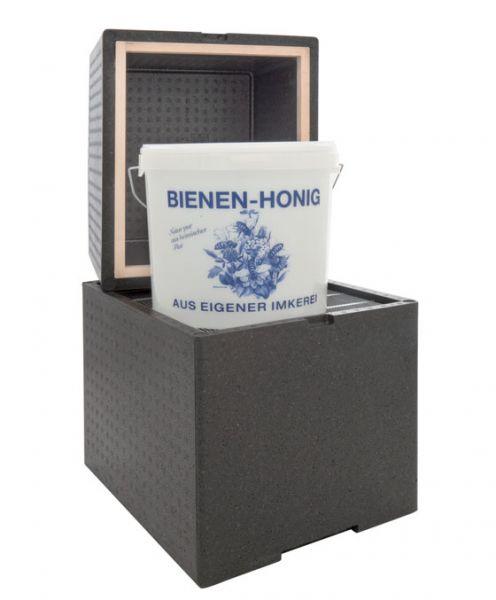 Wärmebox mit Heizfolie