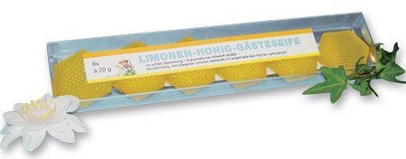 Honig-Limonen-Gästeseife