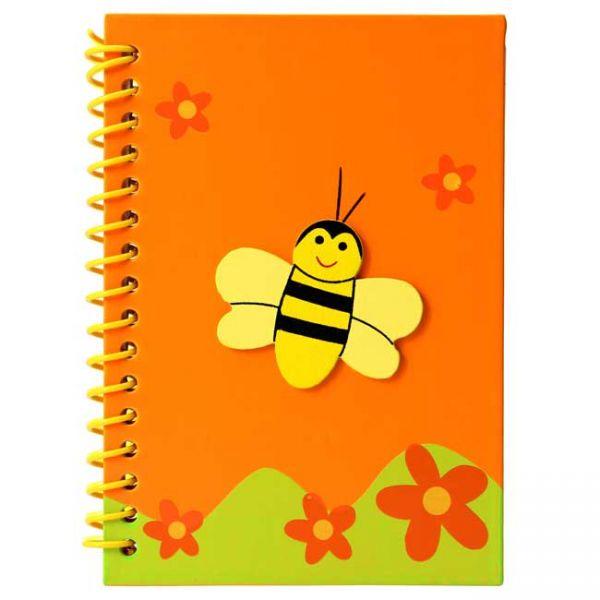 Bienen Notizbuch