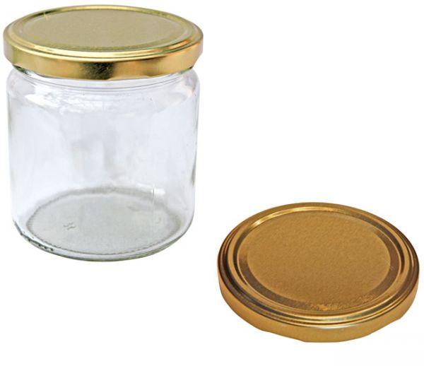 Rundgläser Gold