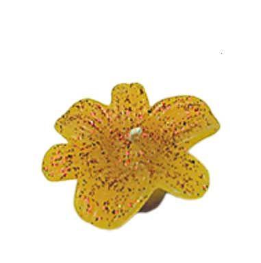 Schwimmkerze, Blüte
