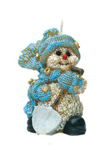 Schneemann, mit Spaten