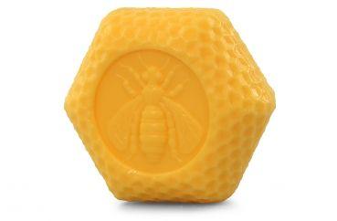 Sechseck Honigseife mit Bienenwachs