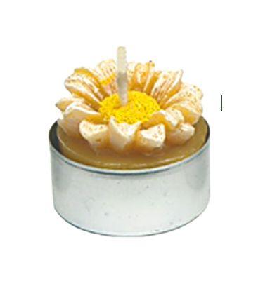 Gießform Blüte, Teelicht