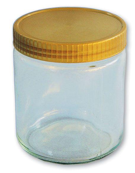 Neutrale Honiggläser