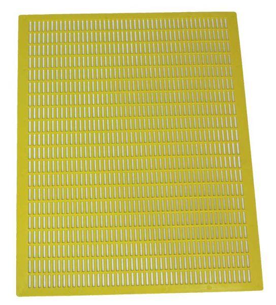 RuBee® Plastik-Absperrgitter gelb