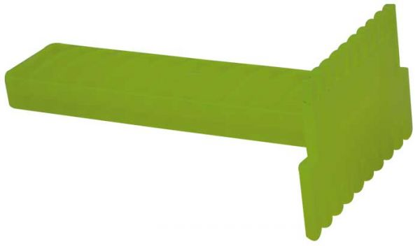 Absperrgitterkratzer Kunststoff