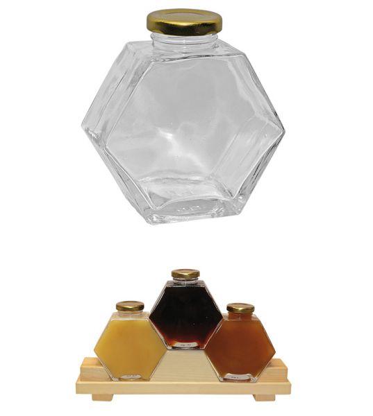 Sechseckglas Deluxe