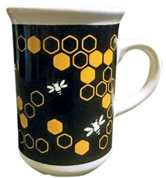 Tasse mit Bienen Black & gold
