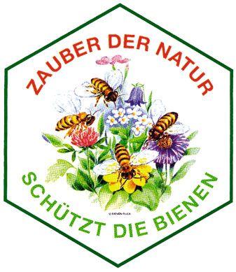 Autoaufkleber schützt die Bienen