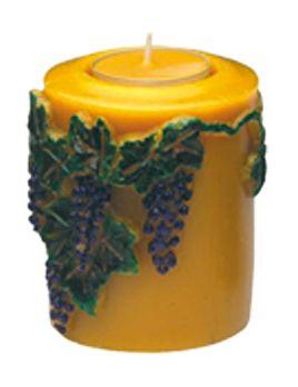 Gießform Weinfass für Teelicht