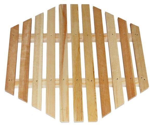 Holzrost für Wachsschmelzer