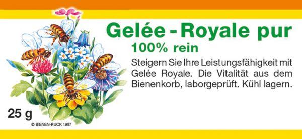 Gelée Royale, 100% rein