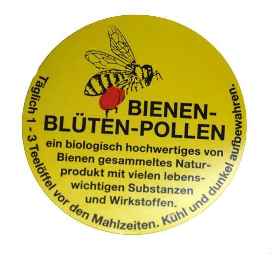 Pollen-Etiketten rund