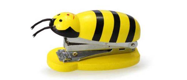 Holz Bienen Hefter