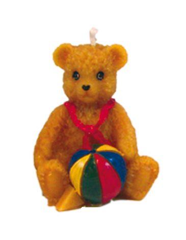 Teddy mit Ball