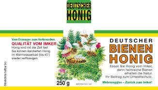 Wald-Honig-Etiketten