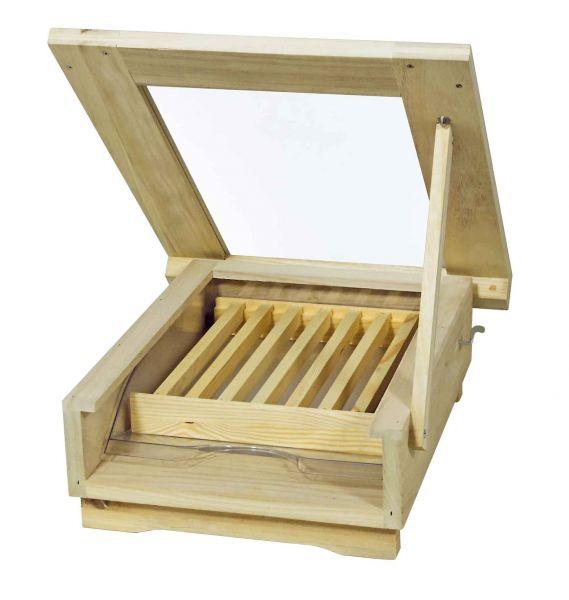 Rhöner Aufstelltränke aus Holz