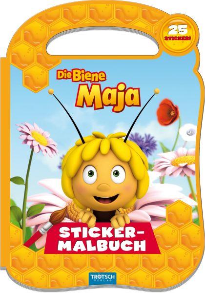 Biene Maja Stickermalbuch