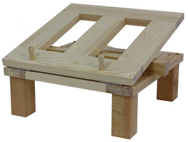 Abfüllknecht aus Holz