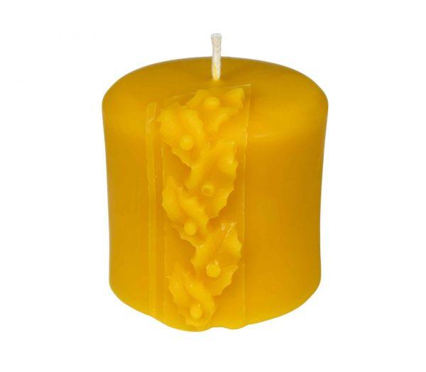 Gießform Kerze mit Distelranke