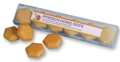 Pfirsich-Honig-Seife