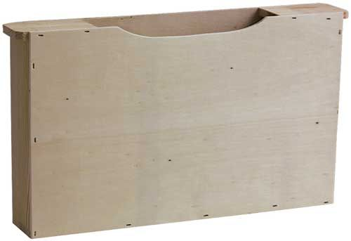 Holz Futtertasche Normalmaß