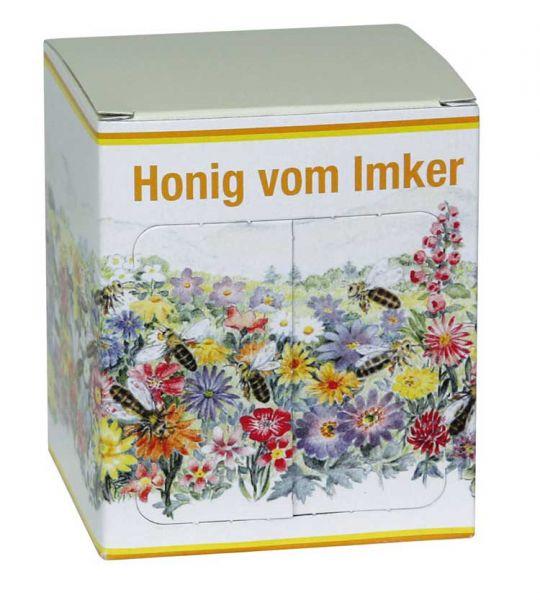 Faltkarton Blumenwiese