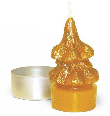 Gießform Teelicht Tannenbaum