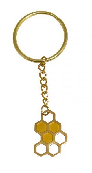 RuBee® Schlüsselanhänger Wabe
