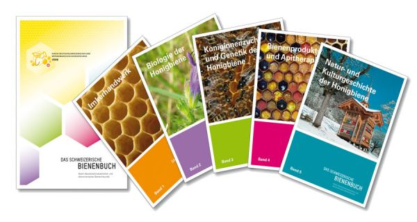 Das Schweizerische Bienenbuch in 5 Bänden