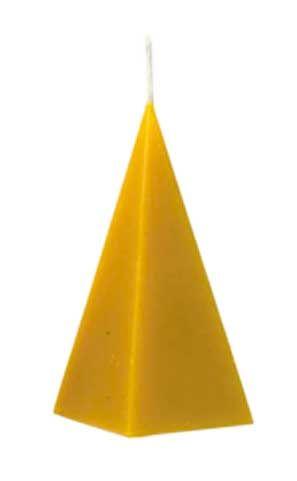 Pyramide, glatt, 5-eckig