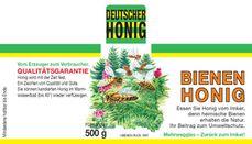 Wald-Honig-Etiketten für 500g-Honigglas