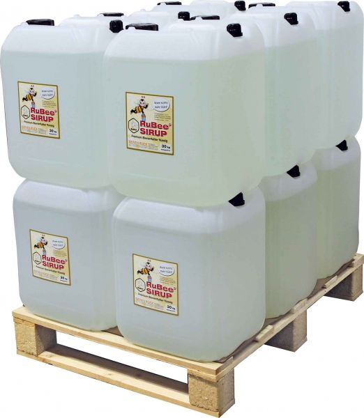 RuBee® Bienenfuttersirup 12 x 30 kg = 360 kg