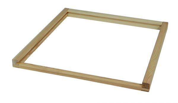 Holzrahmen für Stegplatte lose