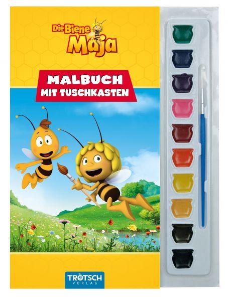 Biene Maja Malbuch mit Tuschkasten
