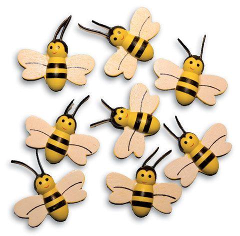 Deko - Bienchen aus Holz