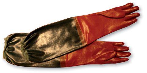 Säurehandschuhe aus PVC