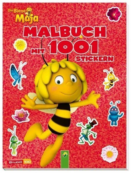 Biene Maja Malbuch