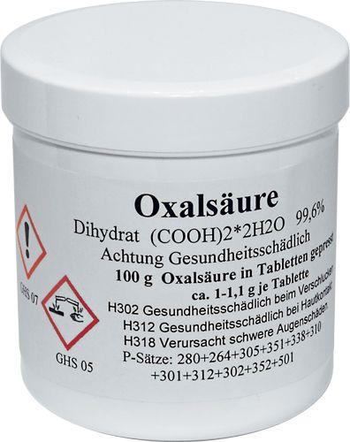 Oxalsäuretabletten