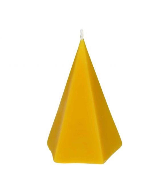 Gießform Pyramide, glatt, 5-eckig