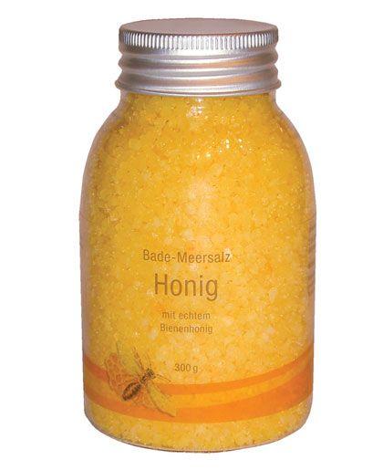 Badesalz mit Honig