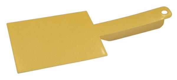 Honig Spachtel aus Kunststoff mit Handgriff