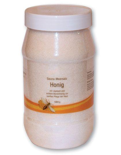 Saunasalz mit Honig