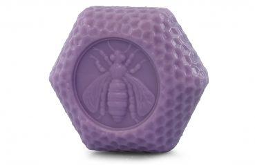 Sechseck Honig Lavendel Seife