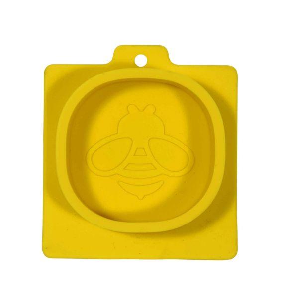 Gießform oval mit Biene