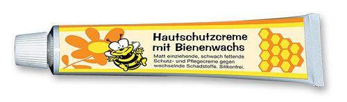 Hautschutzcreme mit Bienenwachs