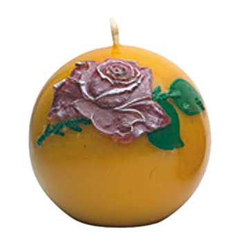 Gießform Kugel mit Rose