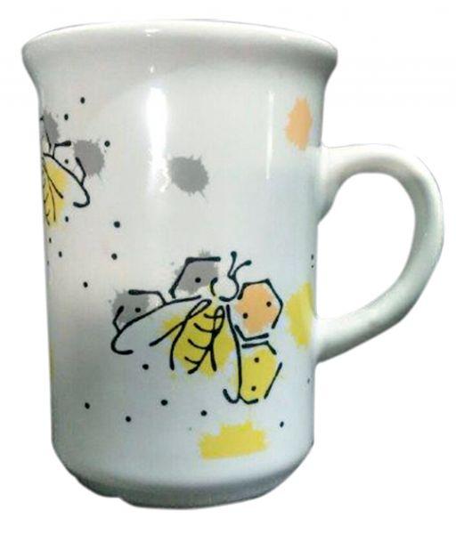 Tasse mit Bienenmotiv neu