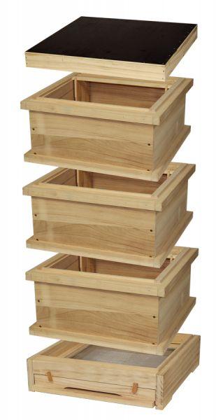 Segeberger Holzbeute komplett